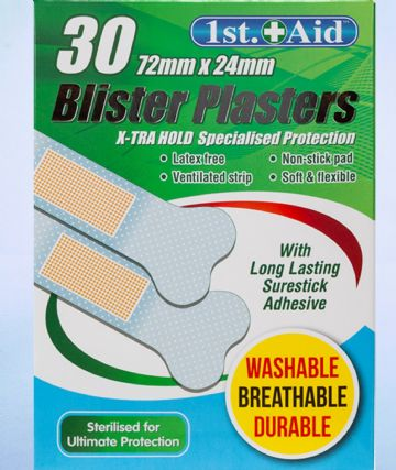 30x Blister Plasters Shields Adhesive Heel Foot Feet Protection